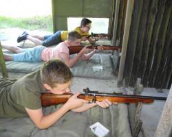 Dzień Dziecka na strzelnicy