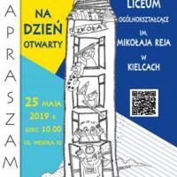 Dzień Otwarty I Społecznego Liceum Ogólnokształcącego im. Mikołaja Reja w Kielcach