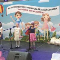 XIII Miejski Festiwal Piosenki dla Przedszkolaków