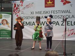 Sprawozdanie z XI Miejskiego Festiwalu Piosenki dla Przedszkolaków