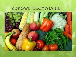 Wykład na temat zdrowego odżywiania