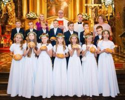 Uroczystość I Komunii Świętej