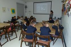 Kl. 2c w Muzeum Dialogu Kultur