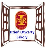 Zaproszenie na Dzień Otwarty Szkoły